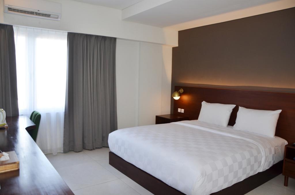 Hotel ini mempunyai 57 kamar yang terbagi menjadi 4 tipe.