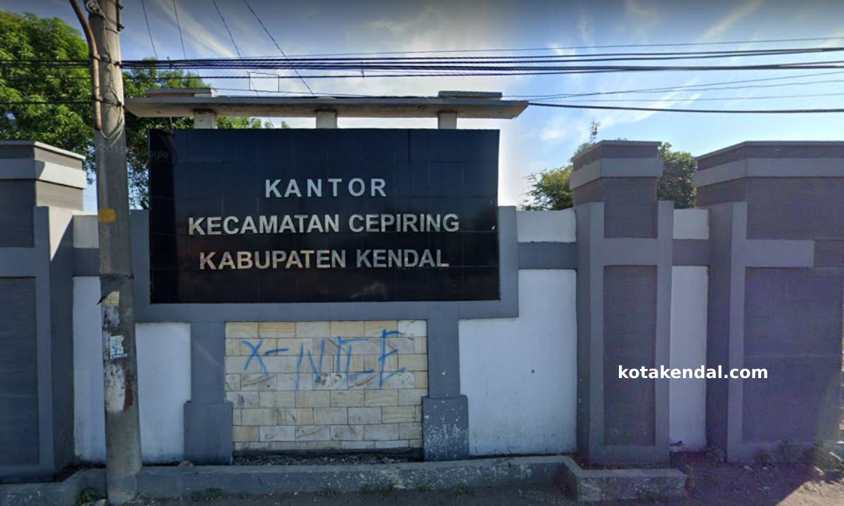 Profil Kecamatan Cepiring Kabupaten Kota Kendal Jawa Tengah