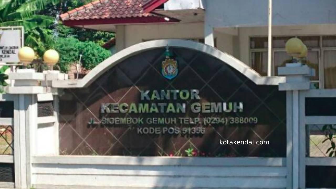 Alamat Kecamatan Gemuh Kabupaten Kota Kendal Jawa Tengah